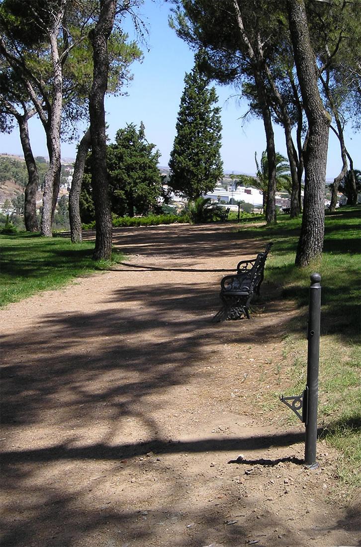 Badajoz plazas parques y jardines for Adornos para parques y jardines