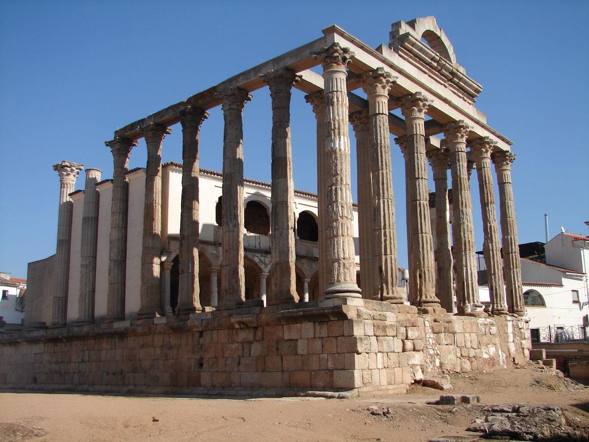 monumentos merida badajoz